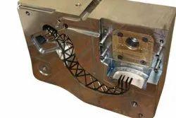Hard Chrome Plating Mild Steel Plastic Moulding Die, Packaging Type: Wooden Box
