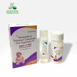 Amoxicillin and Potassium Clavulanate Oral Suspension IP