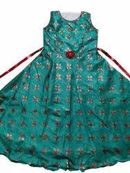 Blue Girls Designer Gown