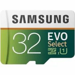Samsung Memory Card, Memory Size: 32 GB, -25 To 85 Degree C