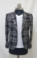 Eshaam Kids Blazer Vintage Checks Blazer, Size: Medium