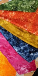 For Textile Rayon Slub Tie Dye Fabric