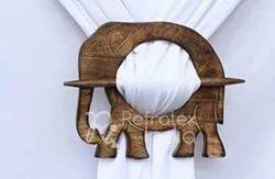 Classic Wooden Curtain Tieback