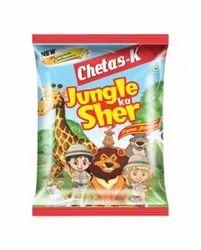 Chetas-k Jungle Ka Sher Fryums Namkeen, Packaging Size: 20g