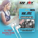 In The Ear Mobile Kay-joy Kj-105ep White Wired Earphones