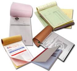 Paper Printed Challan Book And Bill Book