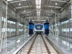 Automatic Coach Washing Plant