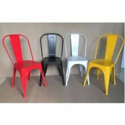 Rite Source Crca Mild Steel Armless Cafeteria Chairs, For Cafe, Restaurant