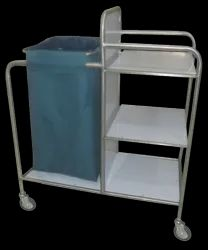 LINEN CHANGING TROLLEY SS - 50-6100 DS
