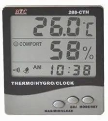 Digital Thermohygrometer With Probe