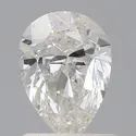Pear 1ct H SI1 GIA Certified Natural Diamond