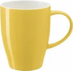 Sublimation Two Tone Yellow Mugs