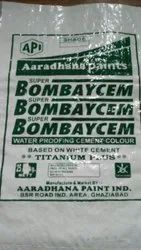 High Gloss White Waterproof Cement Paint, Packaging Type: PP Bag, Packaging Size: 25 Kg