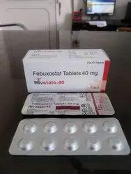Febuxostate 40mg Tablet