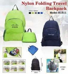 Nylon Folding Travel Backpack