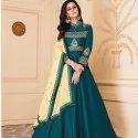 Heavy Soft Silk Gown -8 Pcs