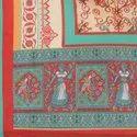 Embroidered Silk Dupatta