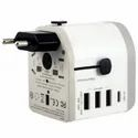 Cadyce White Universal Travel Adapter 30w, For Electronic Instruments, Model Name/number: Ca-uta (30w)