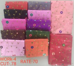 Work-4 Jacquard Blouse Fabric