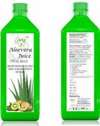 Alovera with Kiwi Juice