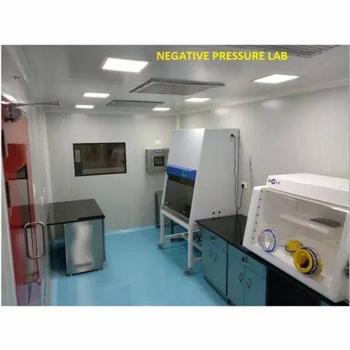 Negative Pressure Lab Cleanroom Project