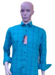 Kaaz Full Sleeves Men Casual Check Cotton Shirt