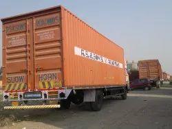 20, 32, 34 Feet Closed Body Container Trucks Delhi Transport Service Pune To Delhi