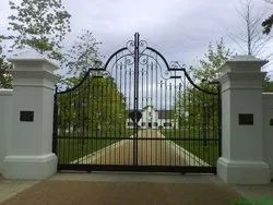 Residential Iron Swing Gate