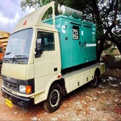 Silent Diesel Generator On Hire Basis Rental Services, 415 V, Capacity Range: 600 L