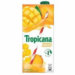Sugar Tropicana Mango Delight Juice, Packaging Size: 500 ml, Packaging Type: Tetra Pack