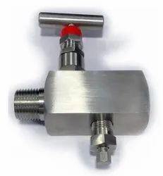 Stainless Steel Low Pressure Drain Needle Valve, For Water