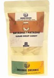 Indiana Organics Sugar Batasha, For Food Making, 400 Gm