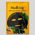 Masking Diva - Neem + Tulsi + Turmeric + Charcoal Facial Sheet Mask