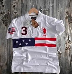 Collar Cotton Us Polo T Shirts
