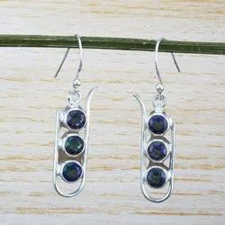 Mystic Gemstone 925 Sterling Silver Jewelry Earring
