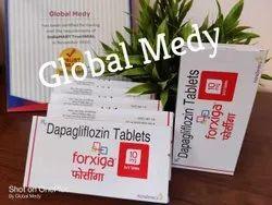 Forxiga Dapagliflozin 10 Mg Tablets, Miba