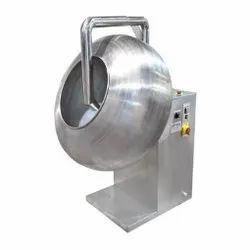 Semi Automatic Coating Pan