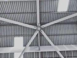 Industrial HVLS BLDC Fan