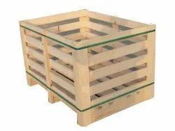 Rectangular Wooden Pallet Box, For Shipping