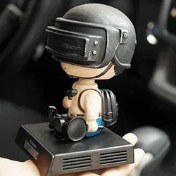 PUBG Hero Doll Bobblehead Car Interior Accessories for Car Dashboard