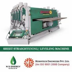 Sheet Metal Levelling Machine