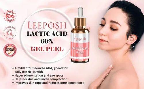 Lactic Acid Peel FDA Approved peels