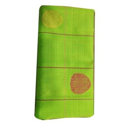 6.3 m (with blouse piece) Festive Wear Green Banarasi Silk Saree