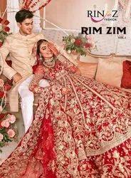 Rinaz Fashion Rim Zim Vol 3 Butterfly Net Heavy Embroidery Work Pakistani Suit Catalog