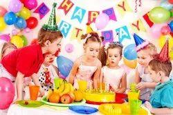White Birthday Party Decorators, in Surat