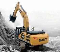 49500kg 403HP在1800 rpm SY500C-10 HD采矿大型挖掘机