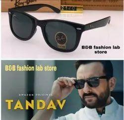 Square Black Ray Ban Sunglasses