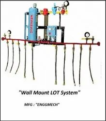 LOT System - Wall mounted LPG Lot System