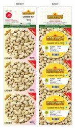 White Cashew Nut W320 (Kaju), Packaging Size: 80 GRAM