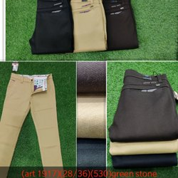 3 Colors Regular Fit Mens Cotton Trouser